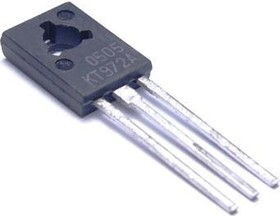 КТ972А, Транзистор NPN 60В 2А 8Вт 200МГц, составной, КТ-27 (TO-126) (BD875)