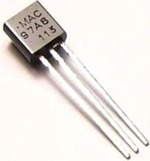 Фото 1/3 MAC97A8.116, Симистор 0.6А 600В [ТО-92]