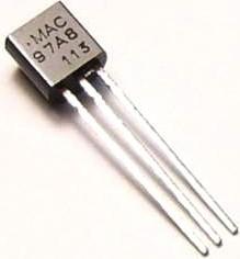 MAC97A8.116, Симистор 0.6А 600В [ТО-92]