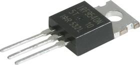 Фото 1/3 IRF9540NPBF, Транзистор, P-канал 100В 23А [TO-220AB]
