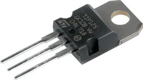 Фото 1/6 TIP125, Транзистор PNP, Дарлингтон, 60В, 5А, 65Вт, [TO-220AB]