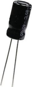 ECAP NP (К50-6), 220 мкФ, 16В 105°C, Конденсатор электролитический алюминиевый неполярный