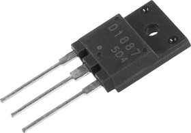 2SD1887, Транзистор NPN 800В 10А 70Вт [TO3PML]
