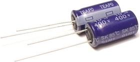 ECAP (К50-35), 10 мкФ, 350 В, 85°C, Конденсатор электролитический алюминиевый