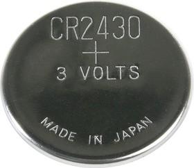 CR2430 (DL2430), Элемент питания литиевый (1шт) 3В
