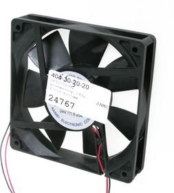 JF1225B2H, Вентилятор 24В, 120x120x25мм, подшипник качения 2500 об/мин