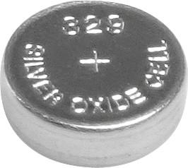 329, Элемент питания серебряно-цинковый (1шт) 1.55В