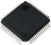 STM32F405RGT6, Микроконтроллер 32-Бит, Cortex-M4 + FPU, 168МГц, 1МБ Flash, USB OTG HS/FS [LQFP-64]