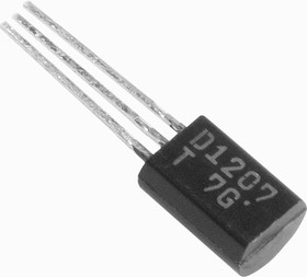 2SD1207, Транзистор NPN 50В 2А 1Вт [TO-92MOD]