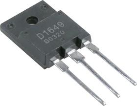 2SD1649, Высоковольтный NPN транзистор средней мощности, строчная развертка ТВ
