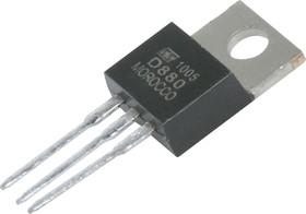 2SD880, Транзистор NPN 60В 3А 30Вт [TO-220AB]