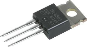 Фото 1/6 IRL3803PBF, Транзистор N-канал 30В 120А [TO-220AB]