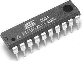 Фото 1/4 ATtiny2313-20PU, Микроконтроллер 8-Бит, AVR, 20МГц, 2КБ Flash [DIP-20]