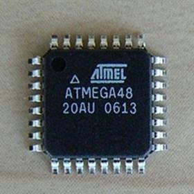 Фото 1/2 ATmega48-20AU, Микроконтроллер 8-Бит, AVR, 20МГц, 4КБ Flash [TQFP-32]