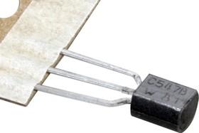 BC547B.112, Транзистор NPN 45В 0.1А 0.63Вт [TO-92]