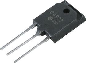 2SC4927, Мощный высоковольтный NPN транзистор с демпферным диодом, управление горизонтальной (строчной) разве