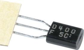 2SD400, Транзистор NPN 25В 1А 0.9Вт [TO-92]