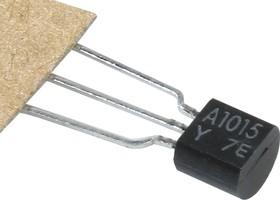 Фото 1/2 2SA1015 (Y), Транзистор PNP 50В 0.15А [TO-92]