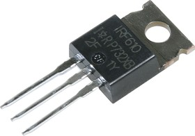 Фото 1/3 IRF610PBF, Транзистор, N-канал 200В 3.3А [TO-220AB]