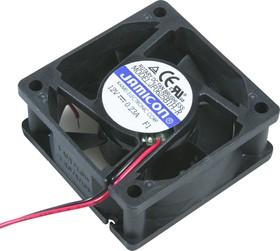 JF0625B1H, Вентилятор 12В, 60х60х25мм, подшипник качения 5000 об/мин