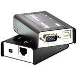 CE100, 1 USB VGA over CATx KVM Extender, 100m