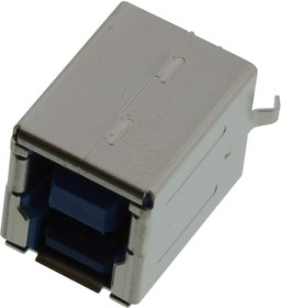 GSB422137EU, USB CONN, 3.1 TYPE B, RECEPTACLE, THT