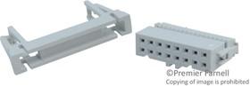 Фото 1/3 71600-616LF, Разъем типа провод-плата, 2.54 мм, 16 контакт(-ов), Гнездо, FCI Quickie Series, IDC / IDT