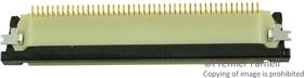 62684-452100ALF, FFC / FPC разъем, 0.5 мм, 45 контакт(-ов), Гнездо, FCI OPU Series, Поверхностный Монтаж, Верх