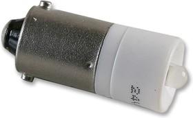 1860235W3DA, Сменная светодиодная лампа, StarLED, BA9s, Белый, 10мм, 750 мкд