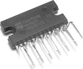 TDA1557Q/N2.112, Мостовой стереоусилитель 2 х 22Вт с защитой внешней нагрузки, [HZIP-13]