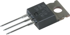 Фото 1/2 IRF3711PBF, Транзистор, N-канал 20В 110А лог [TO-220AB]