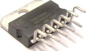 """TDA7265, Стереоусилитель класса АВ с функциями """"Mute"""" и """"St-By"""", 2 х 25Вт, ± 20В, 8 Ом [Multiwatt11]"""