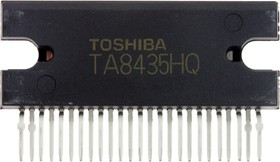 TA8435HQ(5), ШИМ-преобразователь для драйвера шагового двигателя, 1.5А [ZIP-25H]