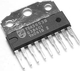 TDA3653B/N2.112, Драйвер управления вертикальной (кадровой) разверткой ТВ, [SIL-9P]