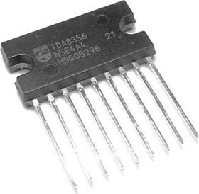 TDA8356/N6.112, Драйвер управления кадровой разверткой ТВ, [SIL-9P]