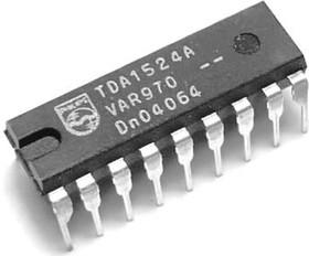 Фото 1/2 TDA1524A/V4.112, Микросхема темброблока, [DIP-18]