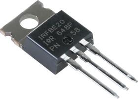 Фото 1/2 IRFBE20PBF, Транзистор, N-канал 800В 1.8А [TO-220AB]