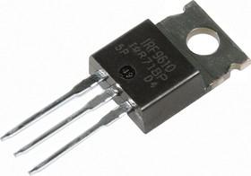 Фото 1/3 IRF9610PBF, Транзистор, P-канал 200В 1.8А [TO-220AB]