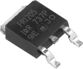 Фото 1/6 IRFR1205PBF, Транзистор, N-канал 55В 37А [D-PAK]