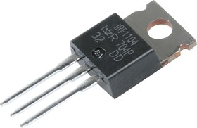 Фото 1/3 IRF1104PBF, Транзистор, N-канал 40В 100А [TO-220AB]
