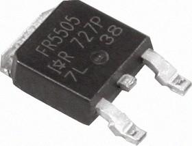 Фото 1/3 IRFR5505PBF, Транзистор, Р-канал 55В 18А [D-PAK]