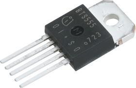 Фото 1/3 BTS555, Интеллектуальный ключ, PROFET, 62В 165А 2.5МОм [TO-218-5]