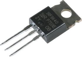 Фото 1/4 IRF9640PBF, Trans MOSFET P-CH 200V 11A 3-Pin(3+Tab) TO-220AB