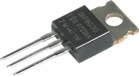 Фото 1/3 IRFBG30PBF, Транзистор, N-канал 1000В 3.1А [TO-220AB]