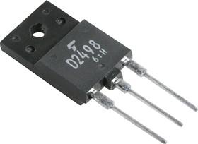 2SD2498, Транзистор NPN 600В 6А 50Вт [TO220]