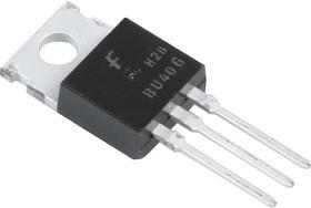 Фото 1/5 BU406TU, Транзистор NPN 400В 7А 60Вт 10МГц [TO-220]