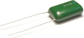 Фото 1/2 К73-17, 0.15 мкФ, 400 В, 5%, Конденсатор металлоплёночный