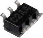 MAX4624EUT+, Низковольтный однополюсный переключатель на два направления [SOT-23-6]