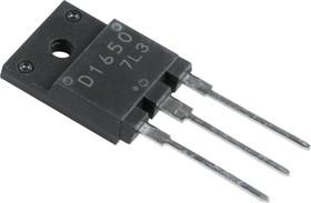 2SD1650, Мощный высоковольтный NPN транзистор с демпферным диодом, управление горизонтальной (строчной) разве