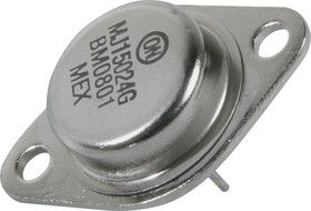 Фото 1/2 MJ15024G, Транзистор NPN 250В 16А 250Вт [TO-3]